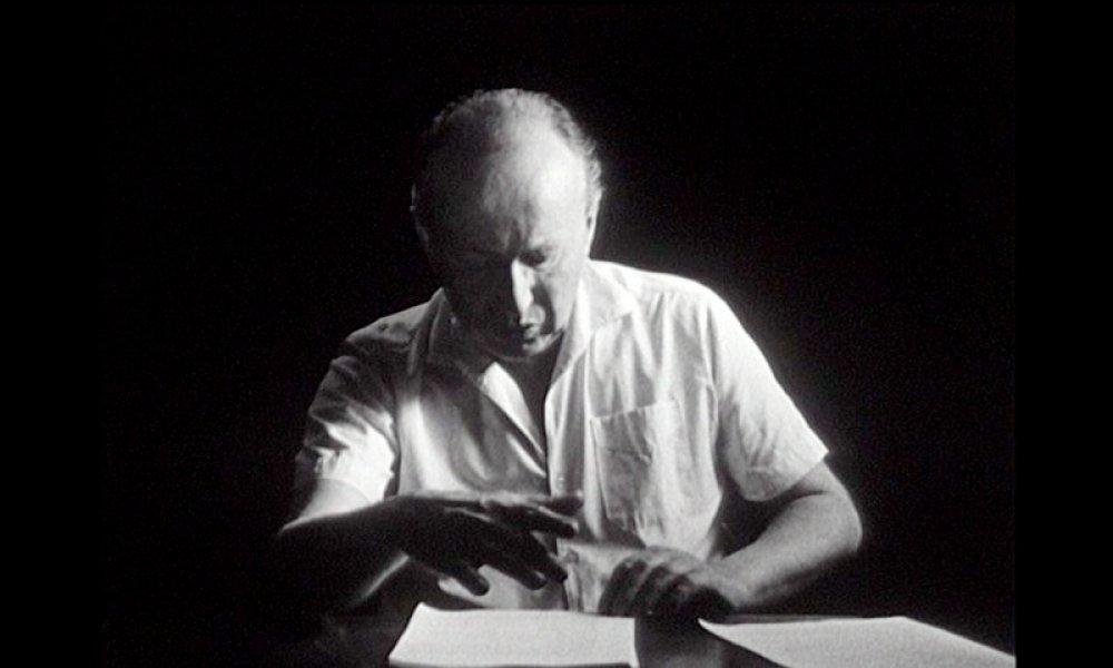 """Walter Schmidinger in """"Hölderlin Comics"""""""